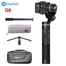 FeiyuTech G6 Splashproof ручной Gimbal экшн-камера Wifi + синий зуб OLED экран угол высоты для Gopro Hero 6 5 sony RX0