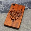 Casos de presente quente natural original logo/wonlf rosewood madeira maia gravado capa para huawei p8/p9/p7/p9 lite/lite p8/p9 plus