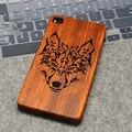 Regalo caliente natural casos original logo/wonlf maya rosewood madera grabado cubierta para huawei p8/p9 p7/p9 lite p8/lite/p9 plus
