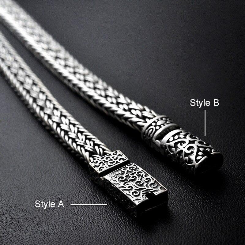 Statement AMBUSH Street Hip Hop Titanium Steel Watch Bracelet Cool Casual Men's Tide Fashion Bangle Jewelry For Party Gifts - 3