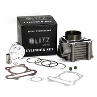 GY6 , big bore, cylinder, kit ,160cc ,piston ,58.5mm, for GY6 ,125cc,150cc, tunning parts,set, high quality
