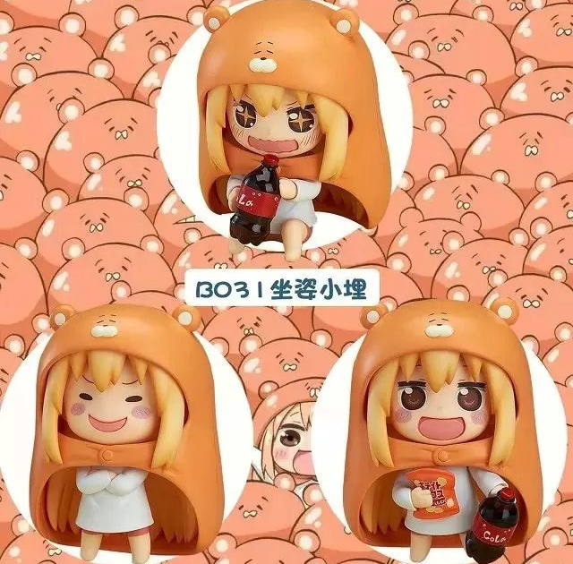 ФОТО GSC Sankaku Head Fish Sister Q version Clay Doll Model 3pcs/set