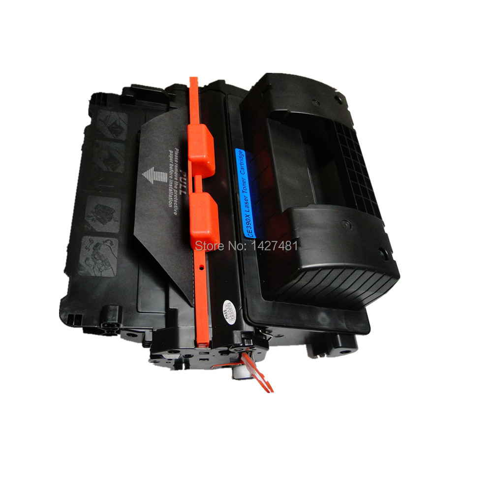 ФОТО Black Toner cartridge For HP CE390X with chip for HP LaserJet Enterise M4555h MFP/M4555t MFP/M4555fskm MFP