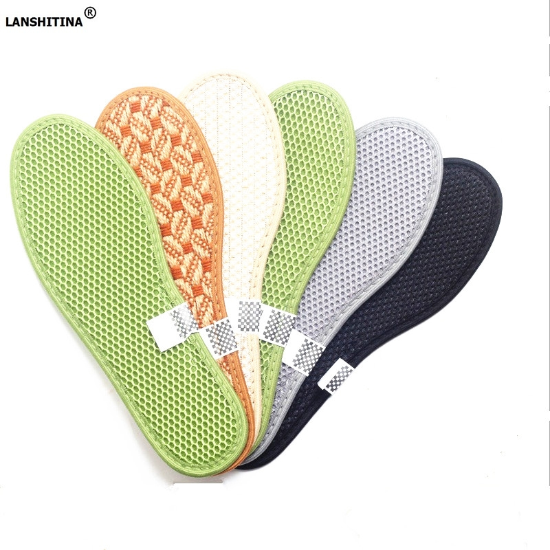 Bamboo Charcoal Insoles Health Sweat Absorbent Breathable Foot Pad Damping Shoe Insoles Anti-slip Plantillas Zapato Accessories
