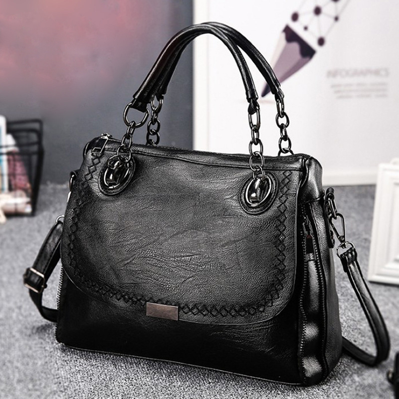 Fashion Ladies handbag Chain bag Europe style women shoulder bag pu leather soft High Quality Female hand bag popular womens bag