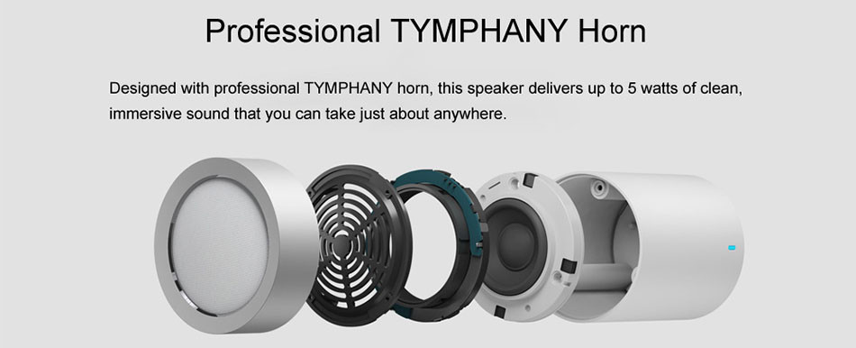 Original xiaomi speaker version 2 cannon TYMPHANY speaker 1200mah battery xiaomi bluetooth speaker 2ND 4