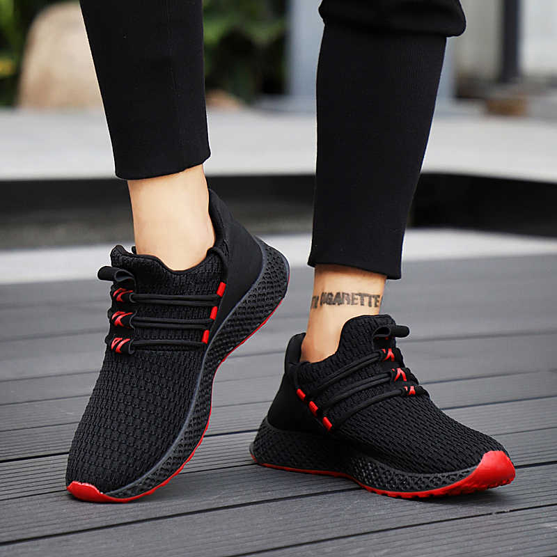 737e5daf729 2019 New Breathable Casual Shoes For Male Fashion Sneakers Men Shoes  Lace-up High Quality Wear-resistant Men Sneakers Footwear