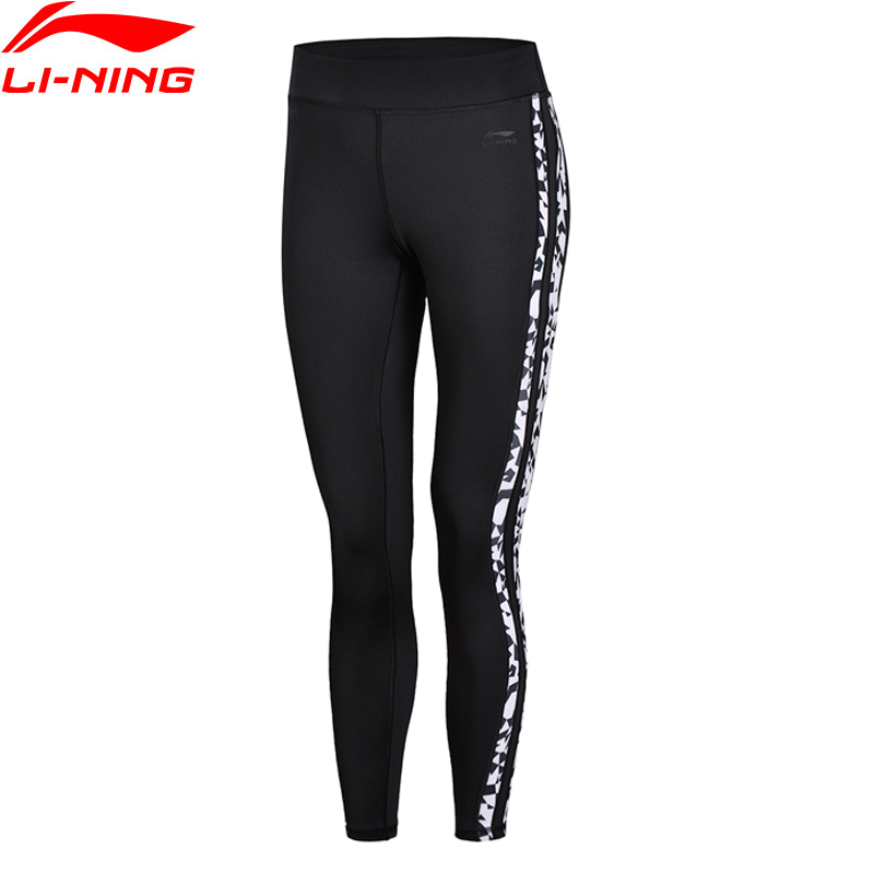Lining Sports-Pants Tights Women Fitness AULN042 WKY160 Elastic-Printed Layer The-Trend