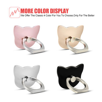 Mobile Phone Ring Holder Stand Mobile Ring Holder For iPhone Huawei Xiaomi Phone Ring holder Car Mobile phone smartphone support 2
