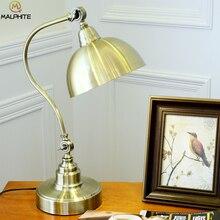 Nordic Retro Eye Table Lamp American Students Learn To Read LED Desk Bedroom Bedside Light Luminaria Iluminaria
