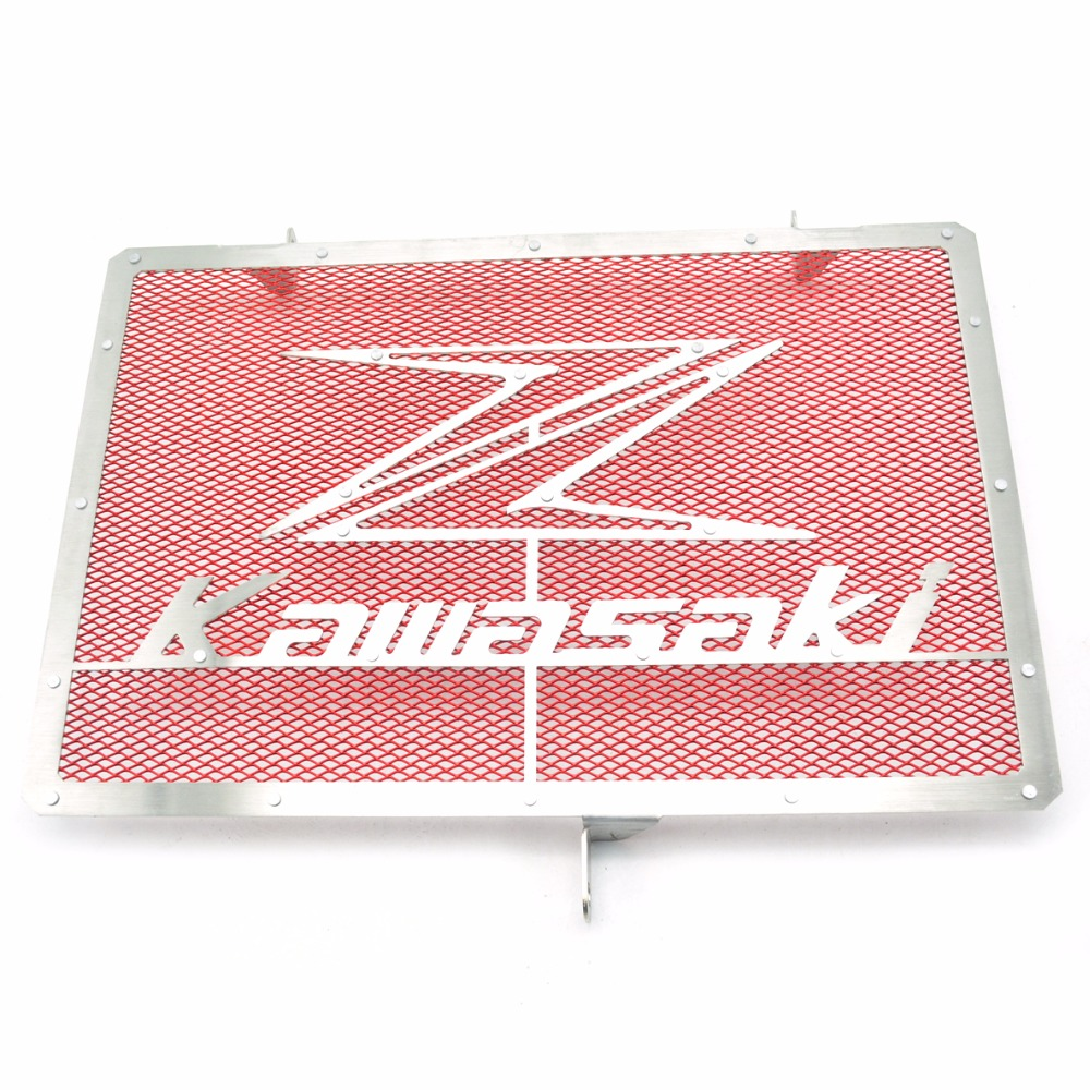 For Kawasaki Z750 Z1000 2007 2008 2009 2010 2011 2012 2013 2014 2015 Motorcycle scooter autocycle Radiator Grille Guard Cover motorcycle radiator protective cover grill guard grille protector for yamaha yzf r6 2006 2007 2008 2009 2010 2011 2012 2013 2016