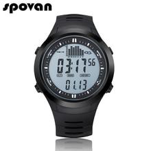SPOVAN Luxury Digital Men's Sports Watch Outdoor 164FT Waterproof with LED Backlight/Fishing Remind/Alarm SPV709