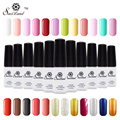 Saviland 1pcs Nail Varnish One Step Easy Use 3 in 1 Gel Lacquer Permanent Manicure Nail Art Pure Shiny 24 Colors Nail Gel