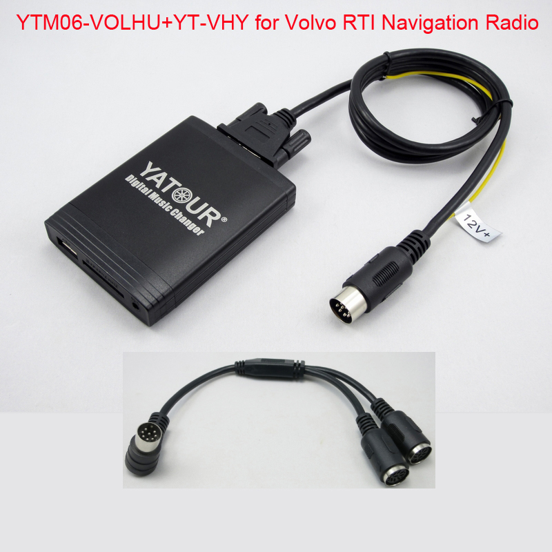 YATOUR SD USB MP3 Player for Volvo RTI Navigation Radio HU series Yt m06 Digital Music