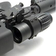 Wipson Тактический цель оптический прицел 3X Лупа Сфера компактный Охота прицел достопримечательности с пригодный для 20 мм Винтовки Оружие рельс Крепление