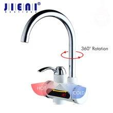 RU Heißer Wasserhahn 3sec Sofort Tankless Elektrischer Warmwasserbereiter Wasserhahn Küche Instant Warmwasserhahn Dusche Heiß und Kalt