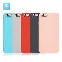Fshang Телефонные Чехлы для iPhone 6 Чехол жидкий силикон кожи Телефон задняя крышка для iPhone 6 s чехлы для iPhone 6 plus чехол