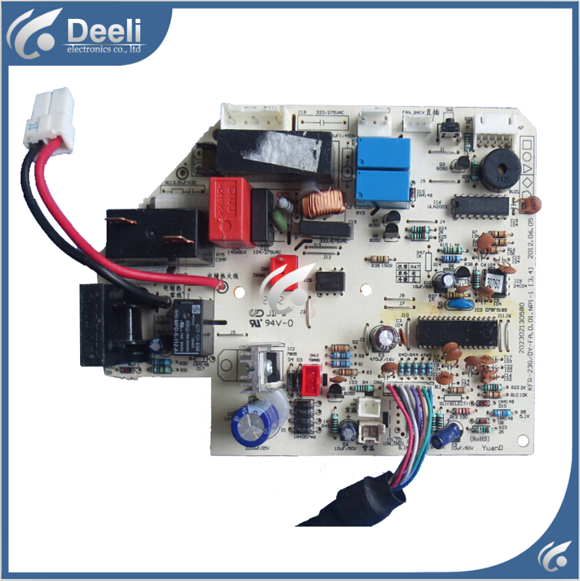 95% new used Original for air conditioning board Frequency Board KFR-23G/DY-FA.D KFR-35G/DY-GC (E2) circuit board indoor air conditioning parts mpu kfr 35gw dy t1 computer board kfr 35gw dy t used disassemble