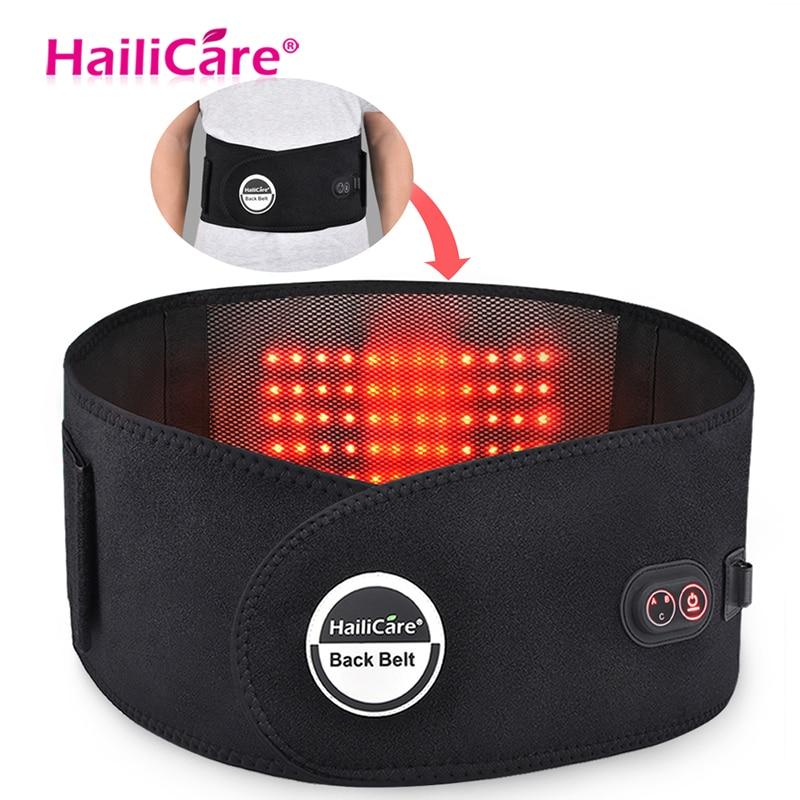 Far Infrared Massage Belt Slimming Belt Electric Heating Moxibustion Waist Support Belt Hot Compress Charging Waist
