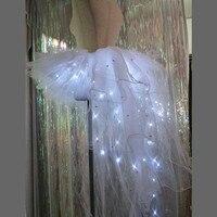 Модные светящиеся пикантные женские музыкальный фестиваль платье со светодиодной подсветкой одежда ночной клуб Led сексуальные Для женщин