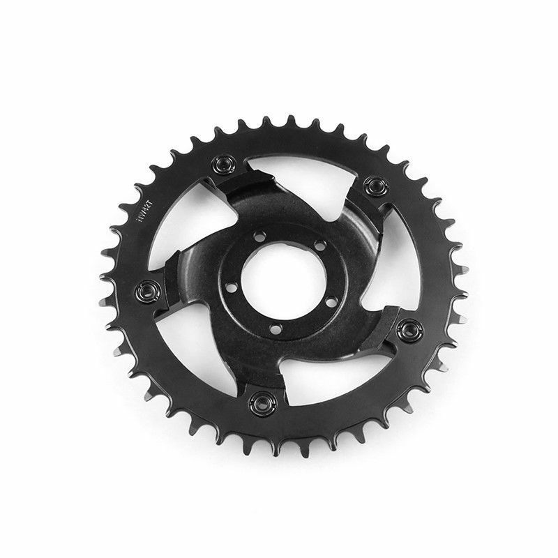 Top Electric Bike Bicycle Chainwheel for Bafang G340 BBS01B-02B Mid Drive Motor E bike accessories SPCC 40T/42T/44T 0