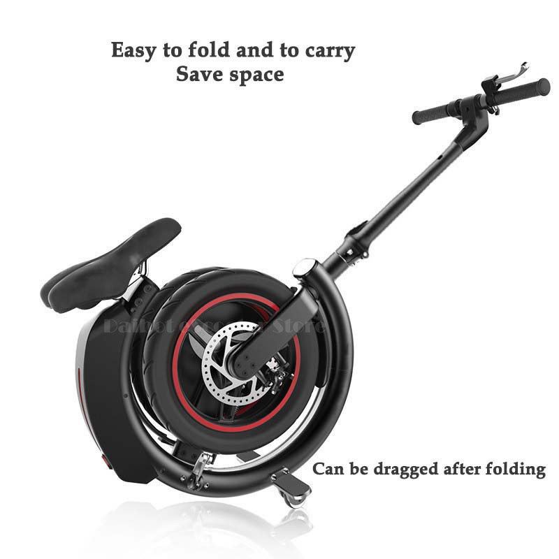 Daibot Mini Electric Bicycle Two Wheel Electric Bicycle 14 Inch 350W 36V 32KMH Foldable Portable Adults Electric Bicycle Bike   (24)