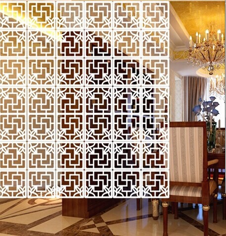 Eco-friendly paint fashion hanging screen partition fashion chinese style cutout grilles carved entrance devece