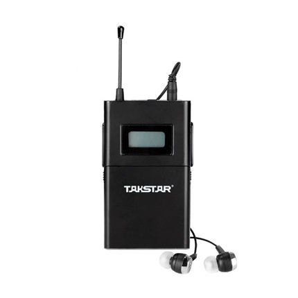 Original TAKSTAR WPM-200 Single Receiving (with Earphone) Professional Wireless Monitor System receiver frequency 780-789 MHz wireless pager system 433 92mhz wireless restaurant table buzzer with monitor and watch receiver 3 display 42 call button
