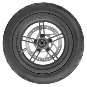 Image 2 - Electric Scooter Tyre with Disc Brake Disc Scooter Pneumatic Tire Rear Wheel Disc Brake Tyre for Xiaomi M365 Electric Scooter