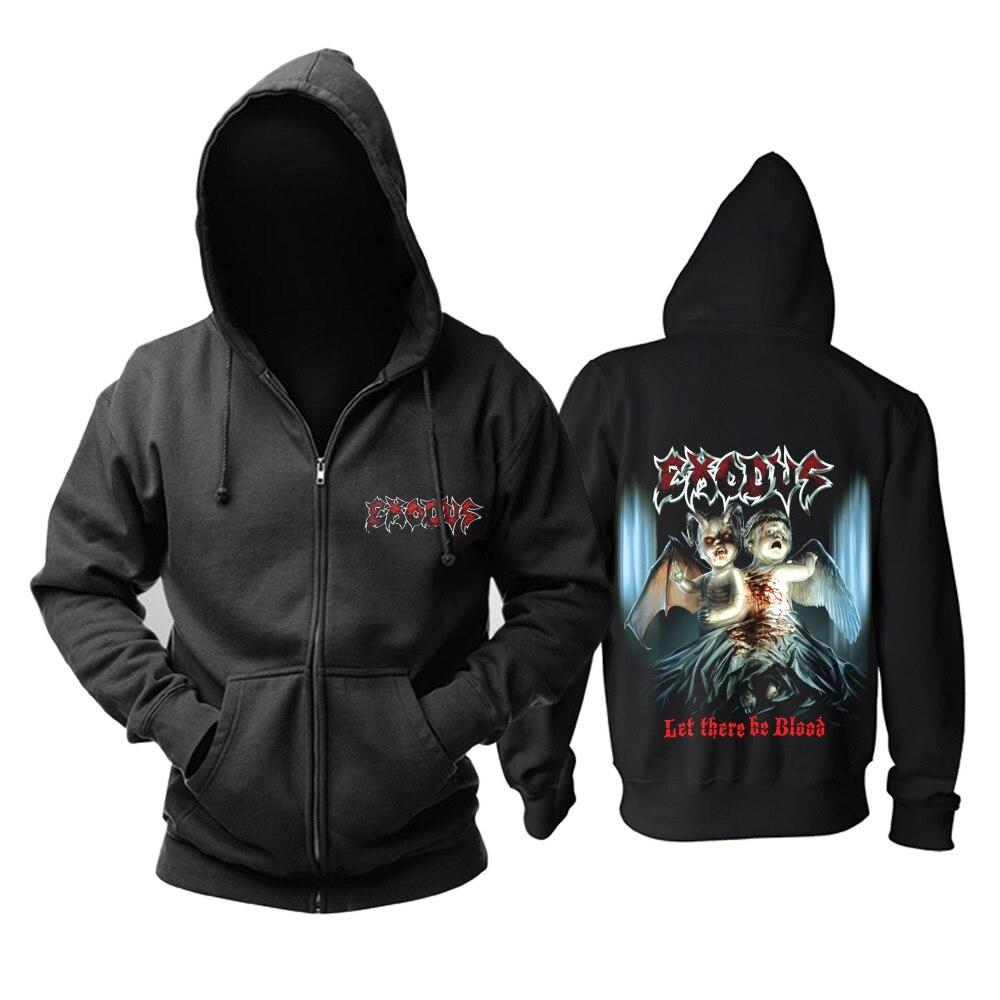 15 видов ужасный Exodus sudadera рок хлопок толстовки оболочка куртка панк рокерский спортивный костюм тяжелая металлическая брэндовая одежда, спортивные футболки - Цвет: 10