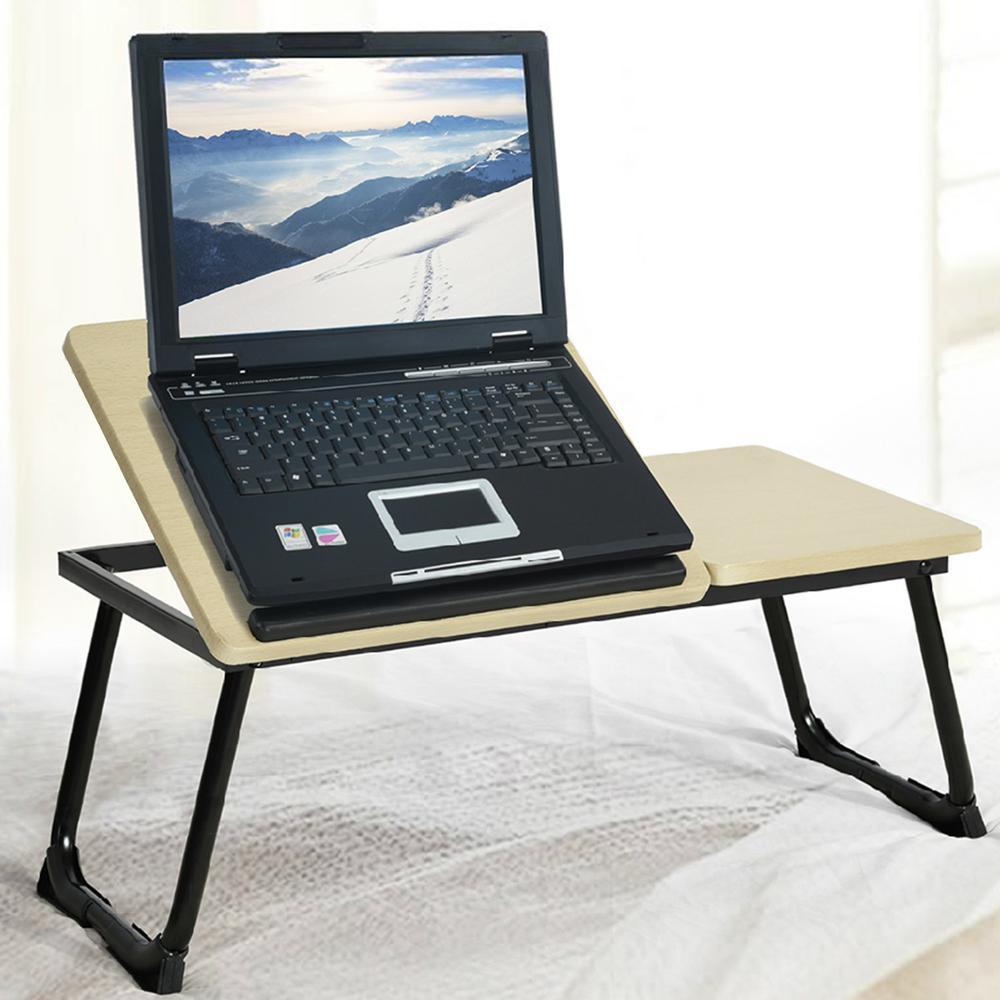 Portable folding laptop notebook table desk adjustable laptop stand - Aingoo Foldable Folding Laptop Sofa Bed Office Stand Portable Adjustable Laptop Notebook Desk Table Computer Desk