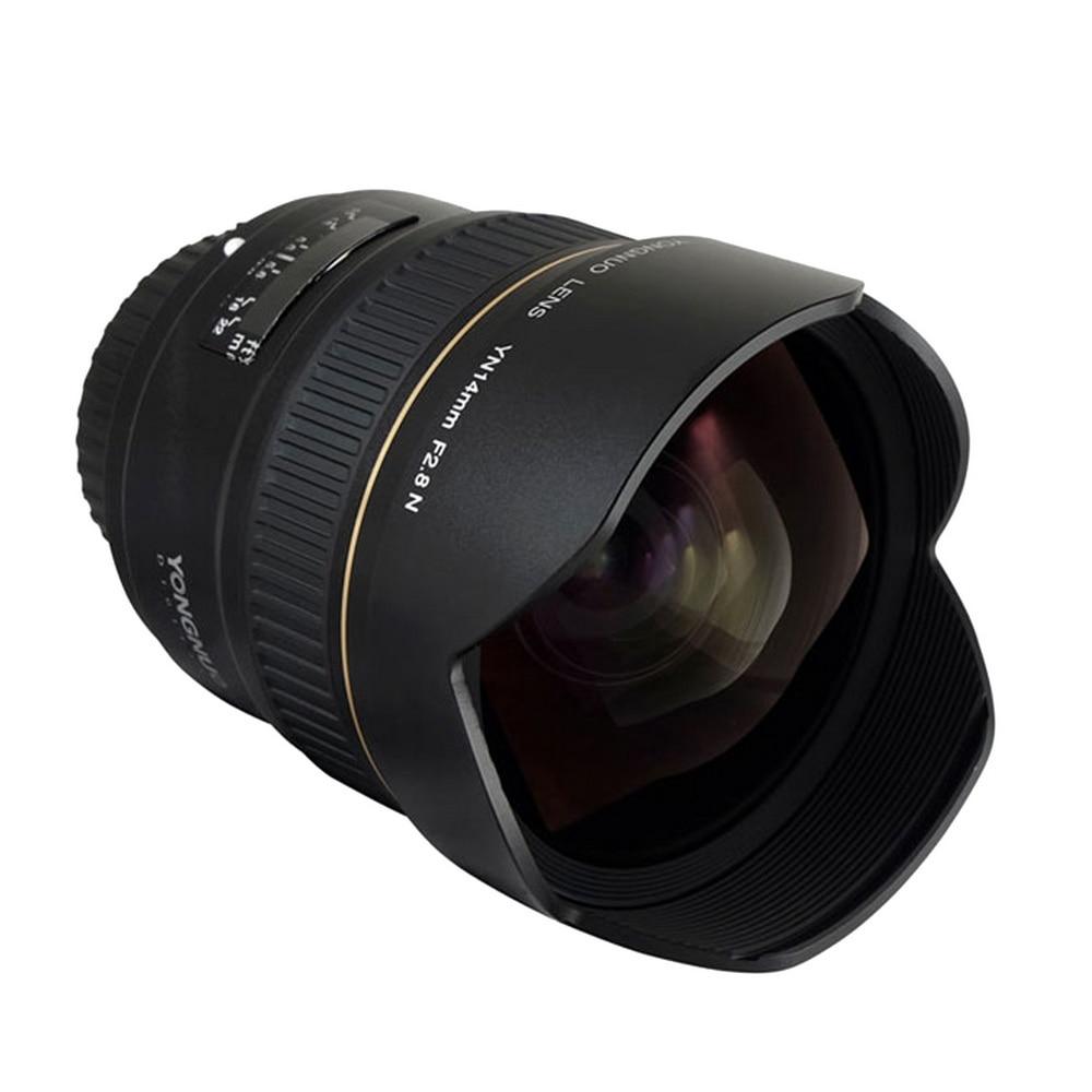 Neue Yongnuo Objektiv YN14mm F2.8 AF MF autofokus Ultra-breite Anglr Prime Objektiv für Canon 5D Mark III IV 6D 700D 80D 70D Kamera