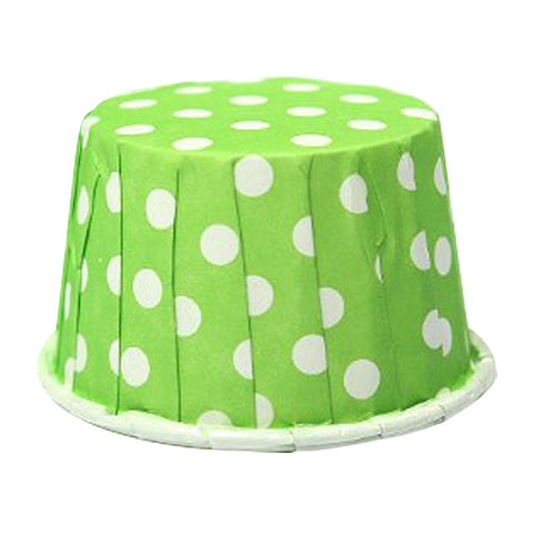 TFBC 100 X Cupcake Wrapper Paper Cake Case Baking Cups Liner Muffin green
