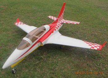 RC aircraftairplane turbine jet VIPER  2M wingspan/ fit for 8-14KG turbine engine