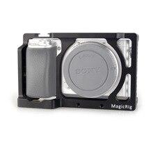 MAGICRIG カメラケージ用ソニー A6400/A6000/A6300/A6500/ILCE 6500/NEX7 デジタル一眼レフケージマウントマイクモニター 501