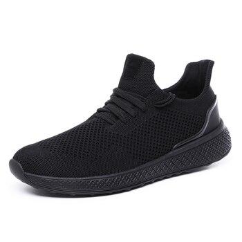 Męskie buty lekkie oddychające tkanina z siateczki buty do