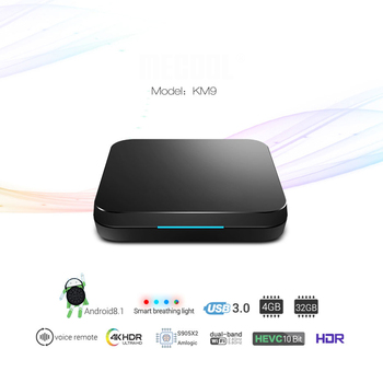 Andriod 8.1 TV Box S905X2 Quad Core 4GB+32GB USB3.0 5G WIFI TV Box