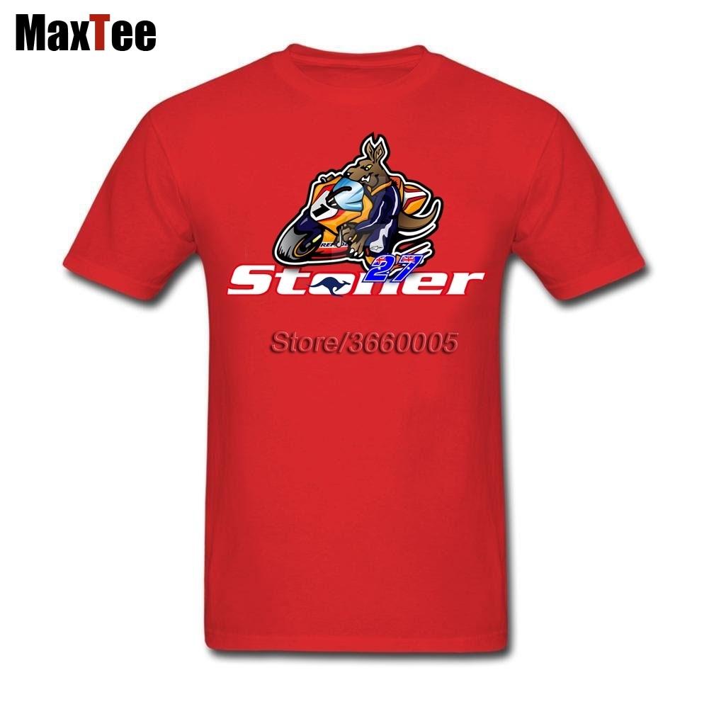 Casey Stoner 27 Logo Tees Shirt Mens Printing Custom Short Sleeve Valentines XXXL Family MotoGP Top Racer Rider Tee Shirts