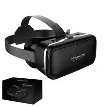 KZ Новый Vr 6.0 версия Виртуальная реальность 3D очки гарнитура смартфон