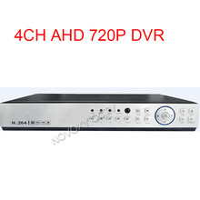 Free delivery CCTV Safety 4CH AHD 720P Standalone Community H.264 4CH DVR Digital Video Recorder for Surveillance CCTV DVR