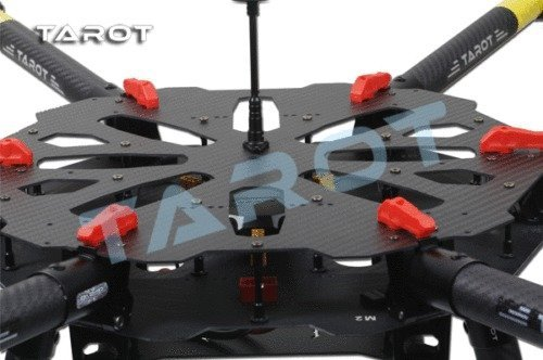 Weyland Tarot X6 Pure Carbon 960mm Hexacopter with Retracts 6-Axis PCB Center Plate Folding Frame Kit FPV RC Drone TL6X001