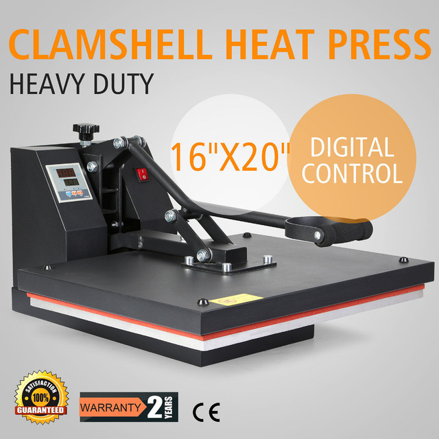 US $244 73 |DIGITAL HEAT PRESS MACHINE T SHIRT TRANSFER SUBLIMATION VINYL  PRINTING 16 X 20-in Woodworking Machinery Parts from Tools on  Aliexpress com