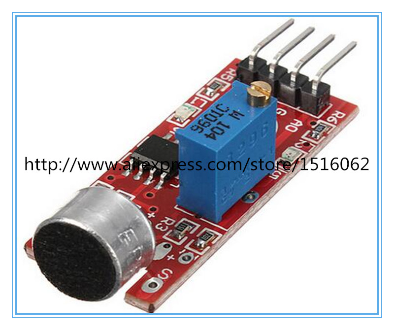 1pc Sensitive Microphone Sound Sensor Detection Module For Arduino AVR PIC