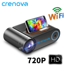 CRENOVA Led-Projector Beamer Multi-Screen HDMI 1080P Wireless Wifi 720P Newest for 3D
