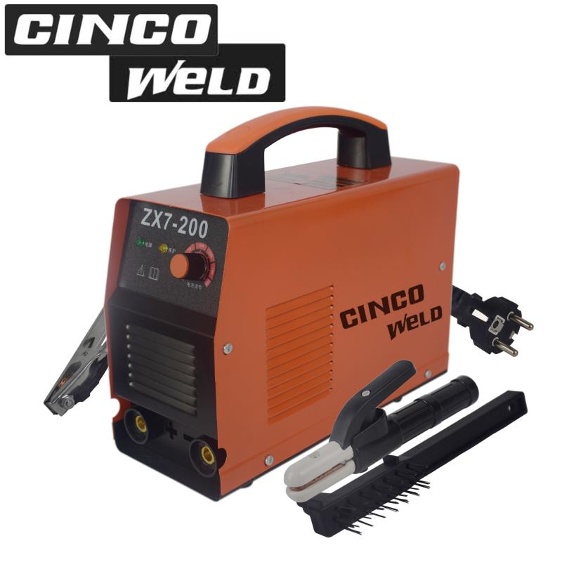 Cinco Welding Machine ZX7-200 120A Inverter ARC Electric MMA Stick Welder For Welding inverter electric welder circuit board general money welding machine 200 drive board
