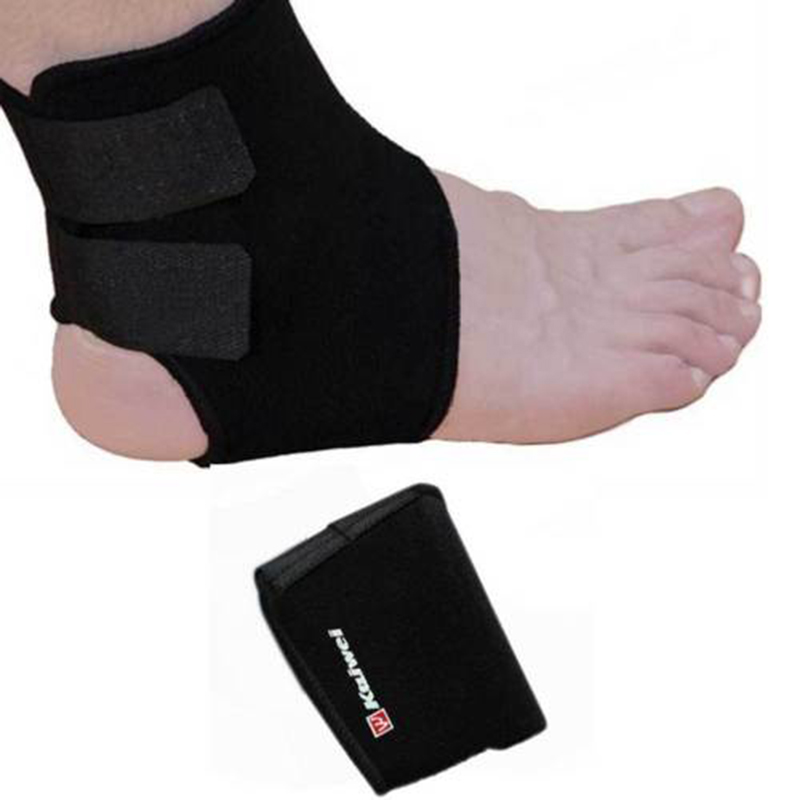 Neoprene Ankle Brace Support Pad Guard MMA Achilles Tendon Sports Strap Foot New