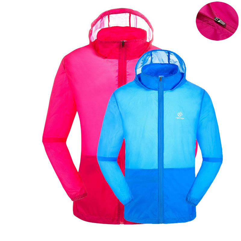 New Spring Summer Super Lightweight Skin Jackets Men Women Lovers UV Protection Windproof Quick Dry Outdoor