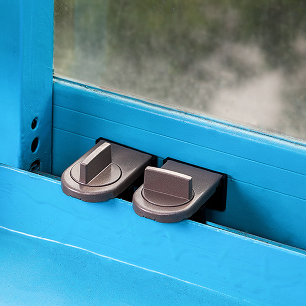 Protecting Baby Safety Security Window Lock Child Safety Lock Window Stopper Protection for Children Protection on Windows in Cabinet Locks Straps from Mother Kids