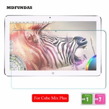 For Cube Mix Plus 10.6 Inch Tempered Glass Full Screen Protector Tablet PC Film 2.5D Edge 9H Hardness Transparent Ultra-thin