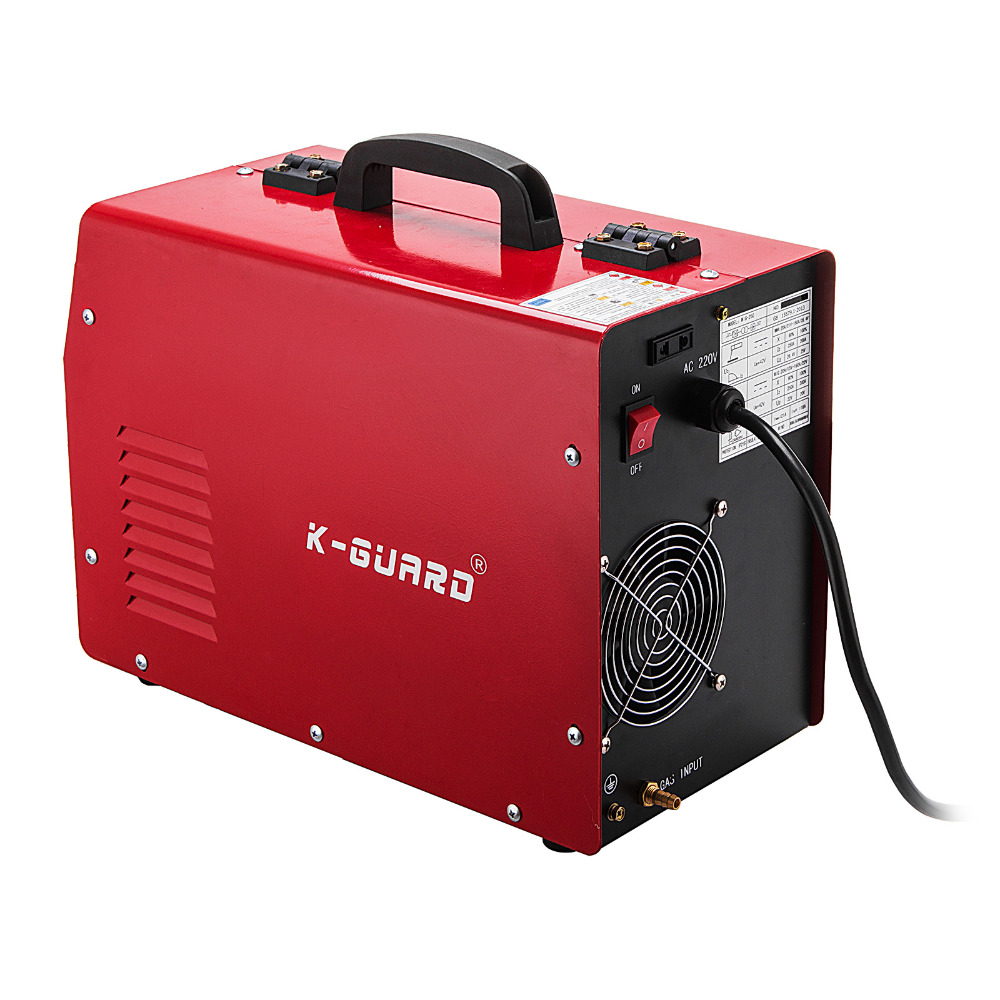 MIG spawarka gazu/bezgazowa MMA 3-in-1 IGBT 230V 280 Amp maszynę DC